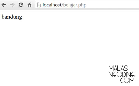 Belajar PHP Mengenal Variabel Di PHP