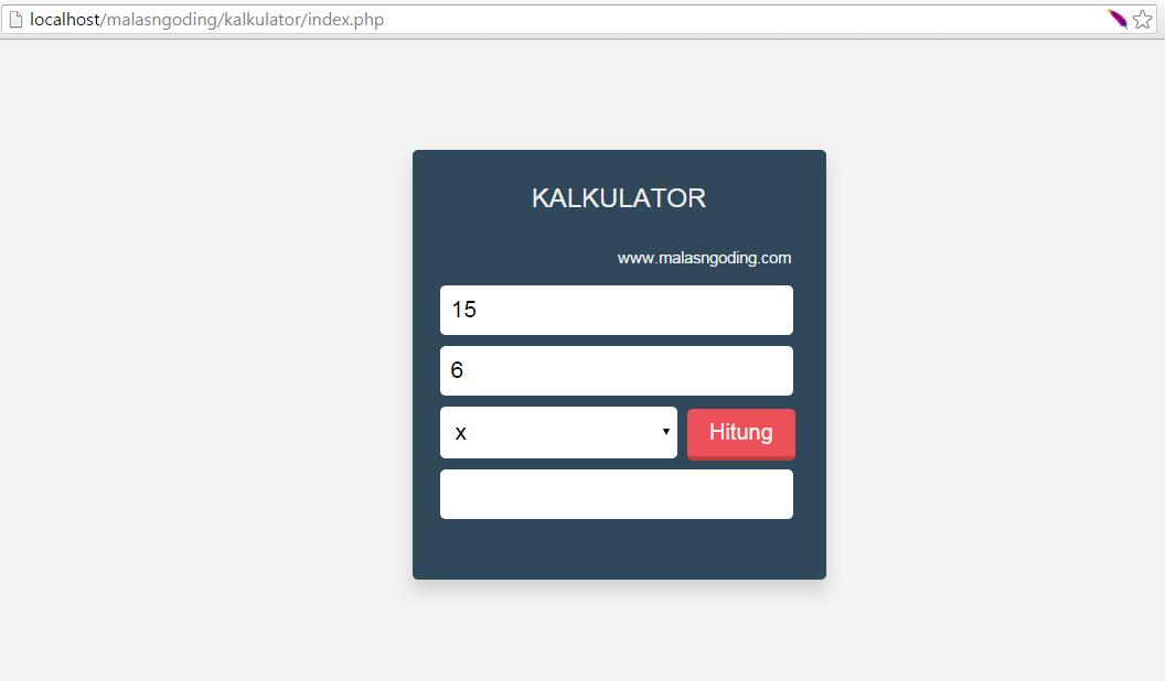 cara membuat aplikasi dengan php