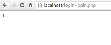 login php berhasil