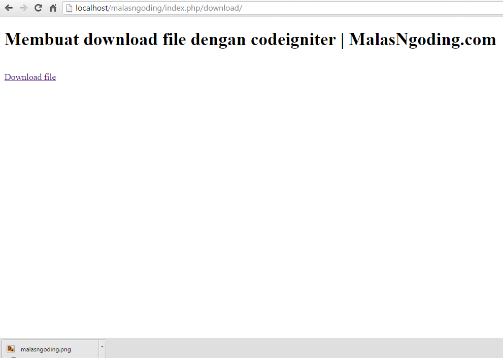 Force download image code igniter user guide
