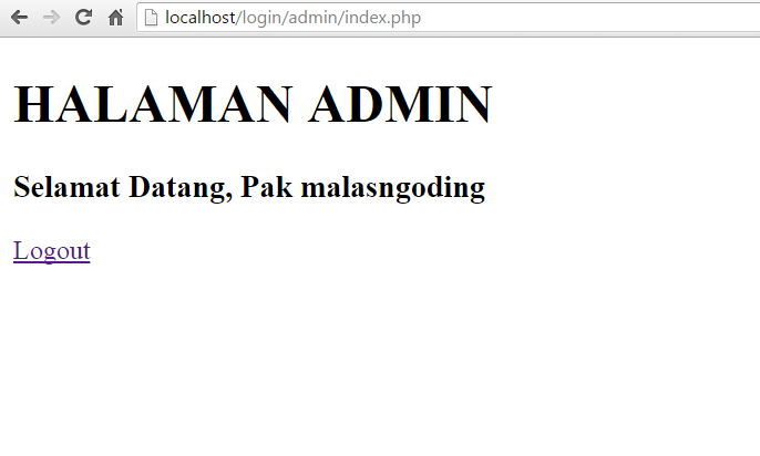 membuat login dengan php dan mysql