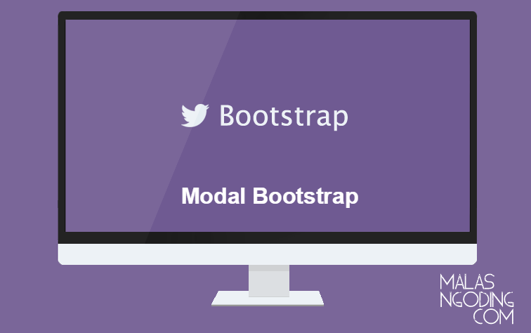 membuat modal dengan bootstrap