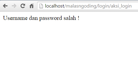 membuat login codeigniter