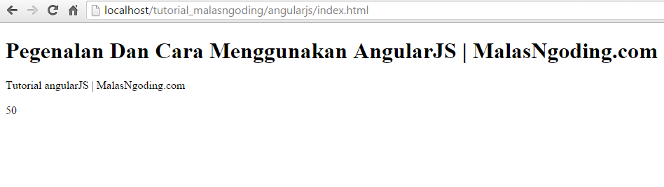 tutorial angularjs pengertian dan cara menggunakan angularjs