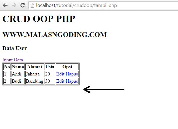 Membuat CRUD Dengan OOP PHP Dan MySQL Part 3