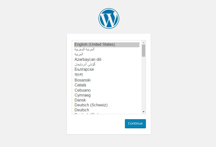 cara intall wordpress di localhost