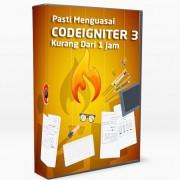 dvd tutorial belajar menguasai framework codeigniter