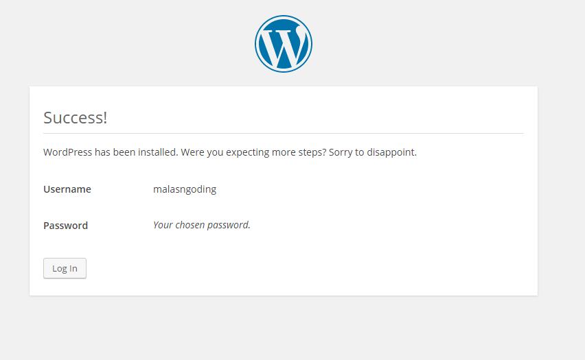 Cara Install WordPress Offline Di Localhost Xampp