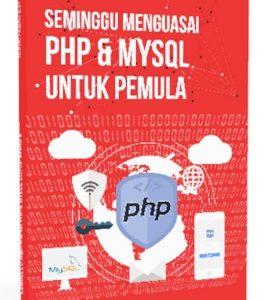DVD Seminggu Menguasai PHP dan MySQL Untuk Pemula