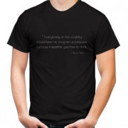 Kaos Programmer Quotes By Steve Job
