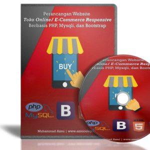 DVD Membuat Toko Online Responsive Dengan PHP Dan Bootstrap