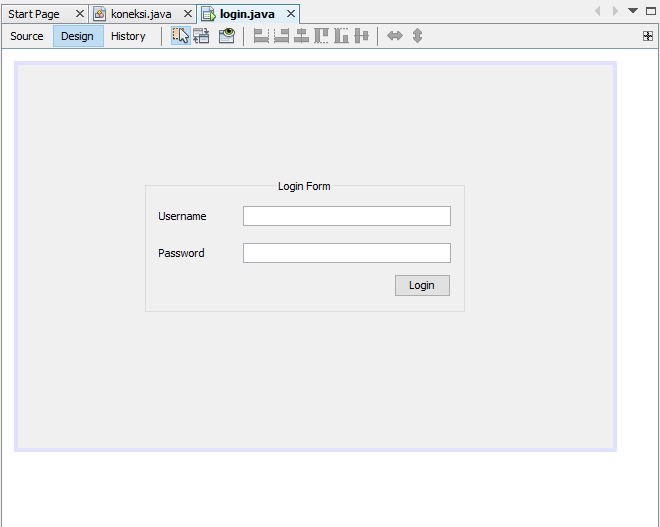 Cara membuat login Java Mysql