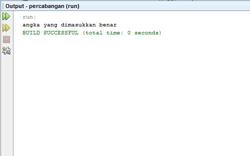 Penggunaan IF dan ELSE di Java