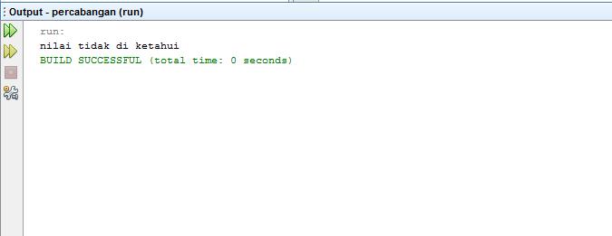 Penggunaan IF Dan ELSE Pada Java