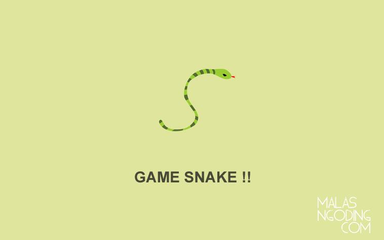 Membuat Game Snake Dengan HTML5 dan JQuery