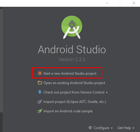 Struktur Project Android Studio