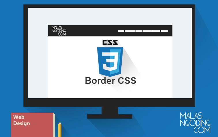 Belajar CSS Mengubah border dengan CSS