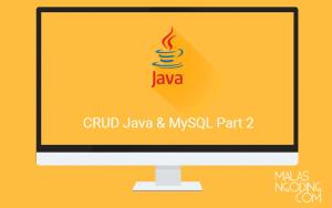 input data ke database dengan java dan mysql