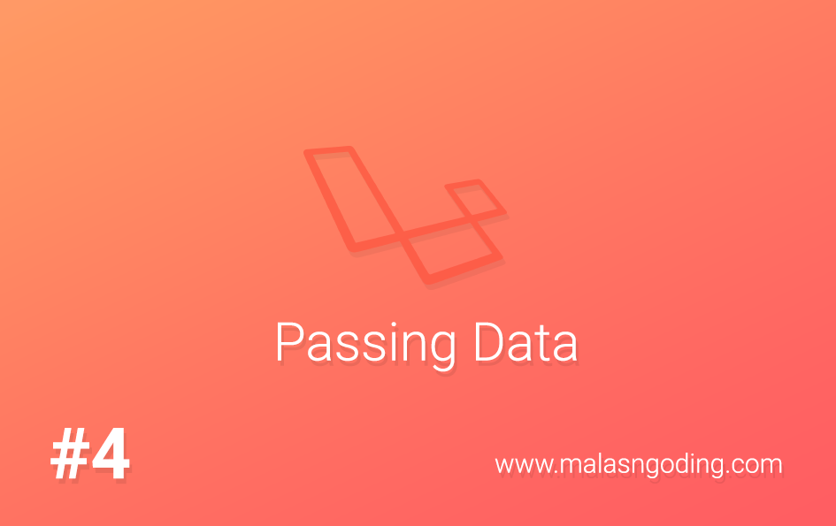 Passing Data Controller Ke View Laravel