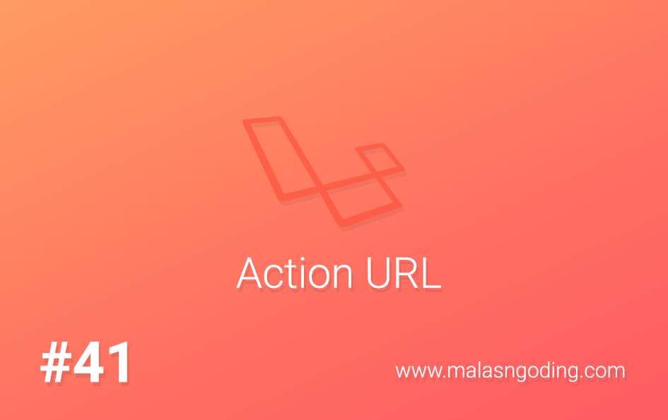 action url laravel