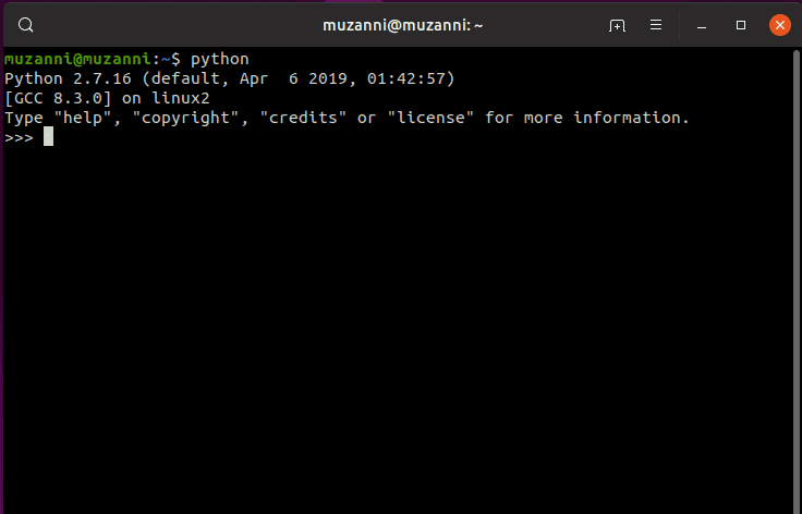 Cara Menjalankan File Python pada interactive mode